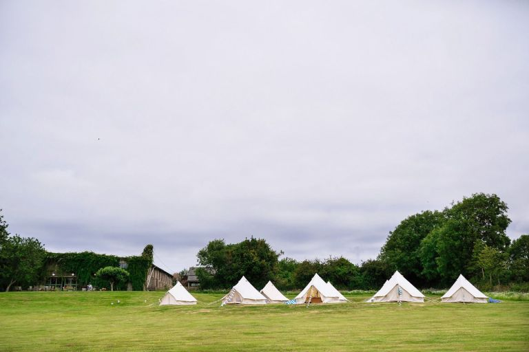 wedding tents, Bell tents